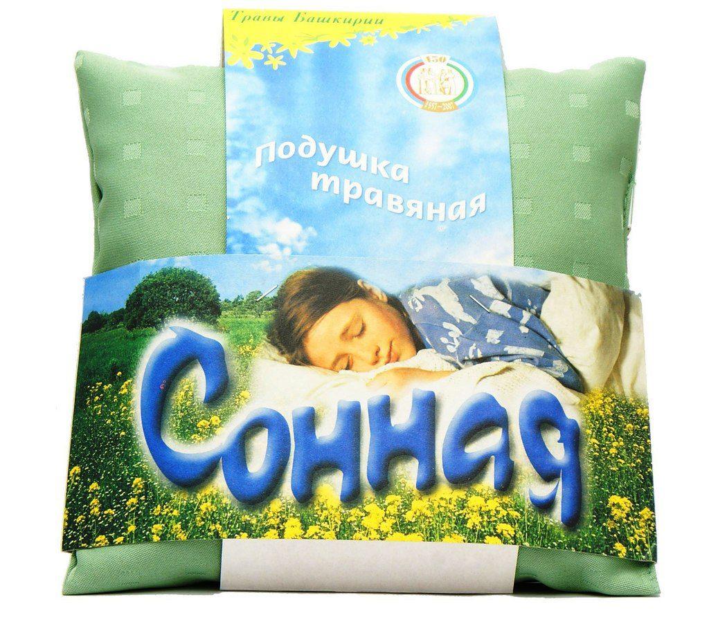 Травяная подушка для сна своими руками